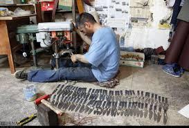 درست کردن چاقو در زنجان